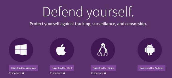 Tor Browser Download channels
