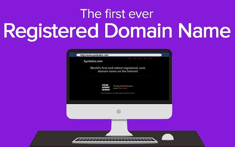 90+ Historic Registered .COM Domains