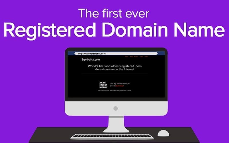 90+ Historic Registered .COM Domains